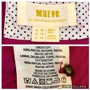 Anthropologie Dresses - Anthropologie Maeve Breanna Wrap Dress